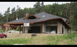 Výroba a montáž konstrukce krovů