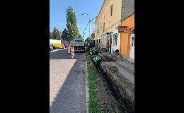 Výstavba inženýrských sítí Jihomoravský kraj