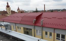 Rekonstrukce, zateplení, izolace střech Vyškov
