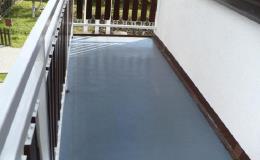 Hydroizolace balkonu