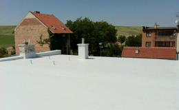Foliové izolace ploché střechy
