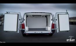 Izolace dodávkových vozů všech typů a značek