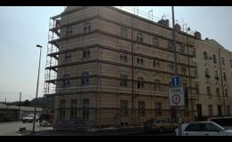 Zateplování fasád Praha