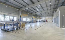 Nová výrobní hala pro lepší kvalitu služeb