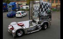 Lakování osobních a nákladních automobilů