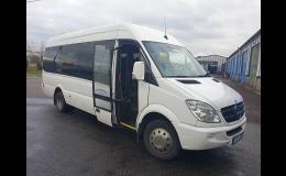 Zájezdová přeprava minibusy Ostrava
