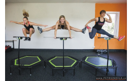 Jumping - na speciálně vyvinutých Jumping PROFI trampolínkách