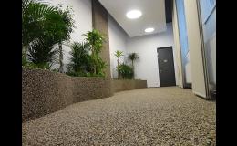 Kamenné koberce - terasy, chodníky