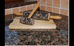 Kamenné kuchyňské doplňky