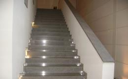 Kamenické práce - výroba schodišť