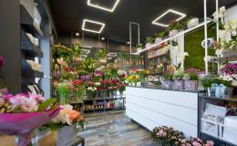 Návrh a realizace osvětlení květinářství a obchodů