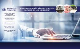Rozjeďte byznys na internetu s novým e-shopem od Evropské databanky