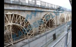Příhradové ramenáty pro tvorbu betonových forem