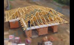 Konstrukce krovů, výroba střech
