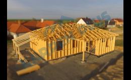 Výroba krovů montáž střech
