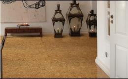 Zajímavé korkové podlahy