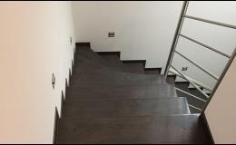 Kompletní podlahářský servis včetně realizace schodiště