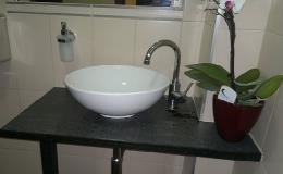 Interiérové kamenné prvky vhodné do koupelen