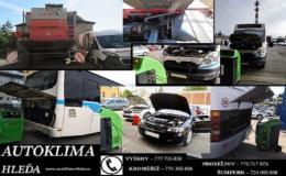 Autoklimatizace - opravy, servis, čištění