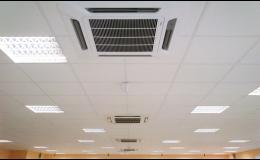 Klimatizační technika pro komerční prostory - instalace, prodej, servis