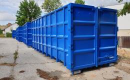 Výroba standardních ocelových kontejnerů
