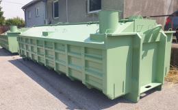 Výroba kontejnerů pro sběrné dvory