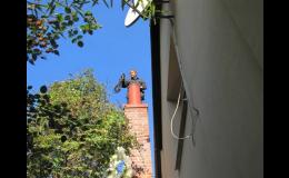 Revize, vložkování i frézování komínů Ostrava