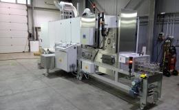 Komorová zařízení pro průmyslové odmašťování a čištění