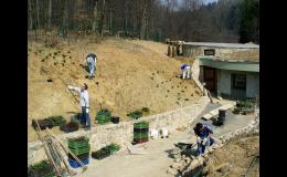 kompletní realizace zahrady Uherské Hradiště