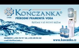 Přírodní pramenitá voda - výroba, distribuce Ostrava