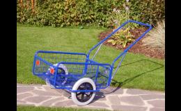Ruční dvoukolové vozíky