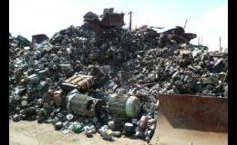 Výkup, zpracování a prodej kovového a železného odpadu