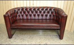 Ruční výroba kožených sedacích souprav