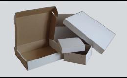 Papírové krabice na výslužku a cukroví - výroba a prodej