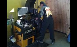 Veškeré pneuservisní práce - prodej, výměna, opravy pneumatik a disků