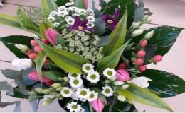 Květinové vazby pro různé příležitosti - gratulační, narozeninové, svatební, smuteční - pro Vás uváže květinářství Ivana Slavovová Prostějov