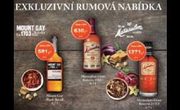 Kvalitní rum ověřených výrobců