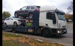 Přeprava nových vozů
