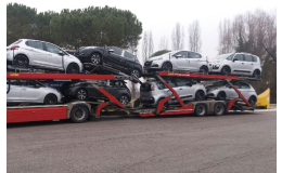 Profesionální přeprava automobilů