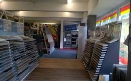 Koberce, laminátové podlahy - prodej