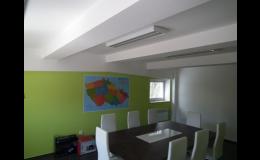 Malířské a natěračské práce, výmalby bytů i kanceláří