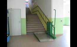 šikmá schodišťová plošina