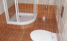 Obložení sprchových koutů