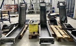 Stroje pro dělení materiálu