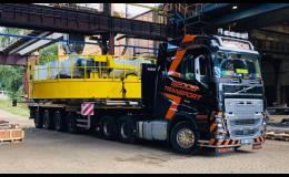 Mezinárodní doprava, přeprava nadrozměrného zboží