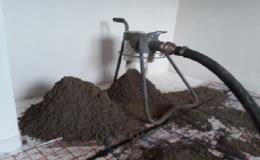 Lité, strojně hlazené betonové podlahy pro novostavby, rodinné domy