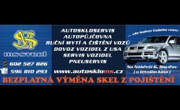 Výměna a oprava autoskel