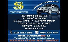 Výměna, oprava autoskel, servis a dovoz vozů