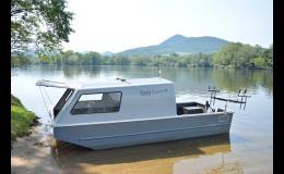 Speciální lodě pro lov kaprů, sumců a jiných ryb