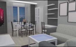 Návrhy a realizace interiérů Ivančice, Moravský Krumlov